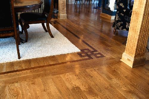 hardwood floor customization services